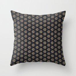 Floral Texture Throw Pillow