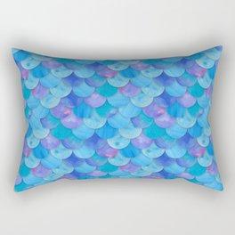 Mermaid Scale Rectangular Pillow