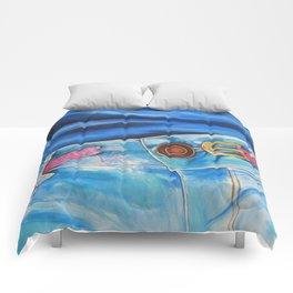 Coming Undone Comforters
