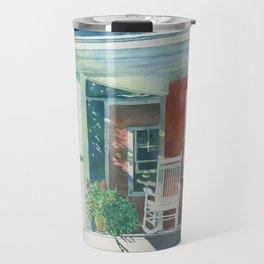 The Red Cottage Travel Mug