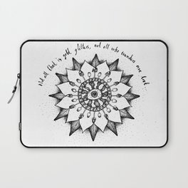 Not all that is gold glitters  Laptop Sleeve
