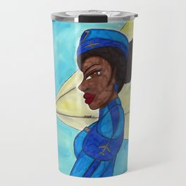 Follow me into the Blue- II Travel Mug