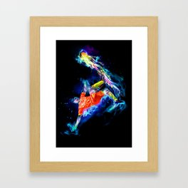 Spirit - Soccer Framed Art Print