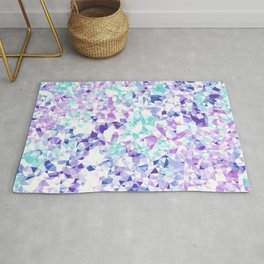 Colorful Triangles 2 Rug