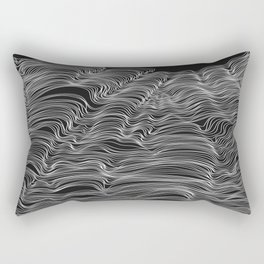 Dark Lines Rectangular Pillow