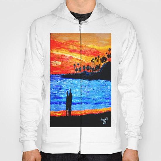 Sunset silhouette Hoody