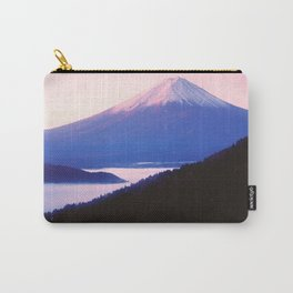 Mount Fuji In Morning Haze Carry-All Pouch