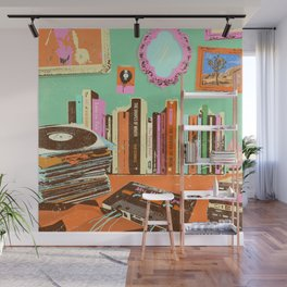 RECORDS N TAPES Wall Mural