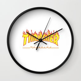 Thrasher magazine Wall Clock