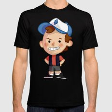 DIPPER! Mens Fitted Tee Black SMALL