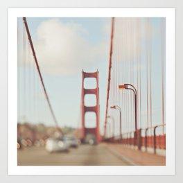 Golden Gate Bridge photo. A Memory San Francisco Art Print