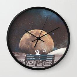 Park Bench Wall Clock