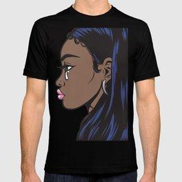 Crying Comic Black Girl T-shirt