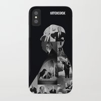 hitchcock iPhone & iPod Cases featuring Hitchcock by tycejones