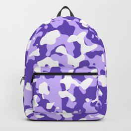 Camouflage Purple Backpack