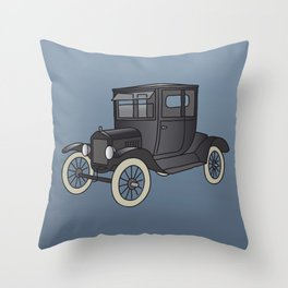 Old timer model T Throw Pillow