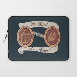 The Cage or the Bird? Laptop Sleeve