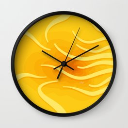 Under The Surface No. 2 Wall Clock