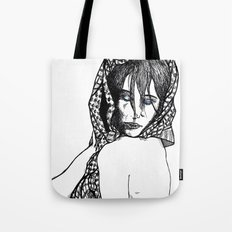 Girl 5 Tote Bag