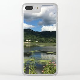 Traveling in La Crosse, Wisconsin Clear iPhone Case