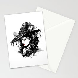 Gothic Witch Stationery Cards