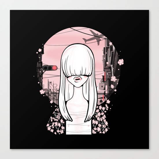 invisible girl Canvas Print