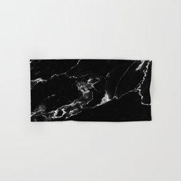 Black Marble I Hand & Bath Towel