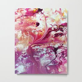 I dream of peony (in space) Metal Print