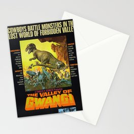 Vintage Film Poster- The Valley of Gwangi (1969) Stationery Cards