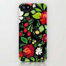 Russian Folk iPhone Case