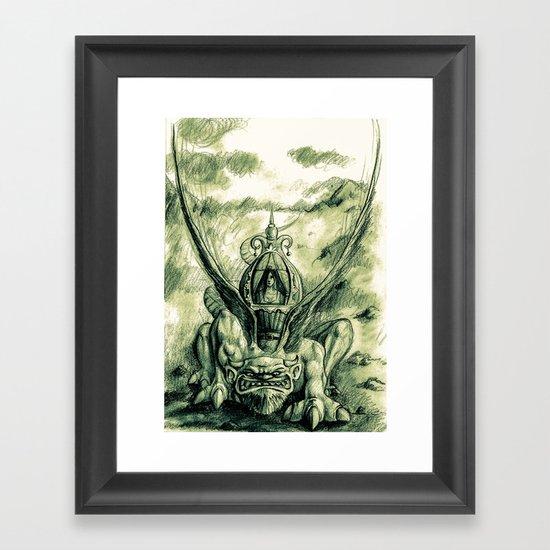 Primitive !! Framed Art Print