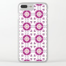 Talavera Tiles no.3 Clear iPhone Case