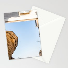Looking up in Saint-Malo Stationery Cards