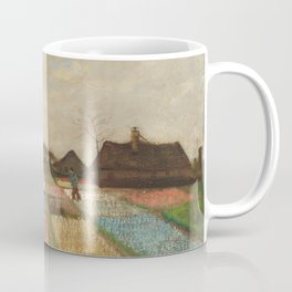 Classic Art - Flower Beds in Holland - Vincent van Gogh Coffee Mug