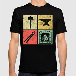 Blacksmith Tools Perfect Blacksmith Gift Idea T-shirt
