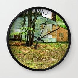 Abandon Building 2 Wall Clock