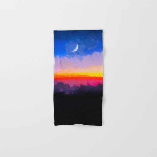 Sunrise - Leaving the Moon Hand & Bath Towel