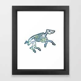 Space Swine Framed Art Print