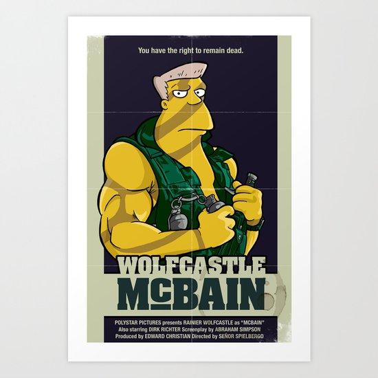 McBain Art Print