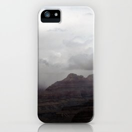 Dark Clouds over Grand Canyon iPhone Case