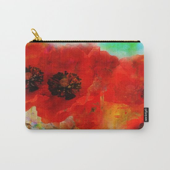 Champ de coquelicots Carry-All Pouch