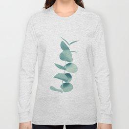 Eucalyptus Green Vibes #1 #foliage #decor #art #society6 Long Sleeve T-shirt