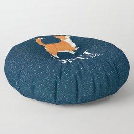 Corgi Glitter - Pembroke Welsh Corgi Floor Pillow