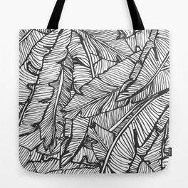 Black & White Jungle #society6 #decor #buyart Tote Bag