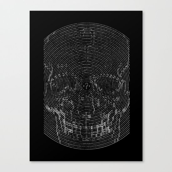 Infinite Inevitable Canvas Print