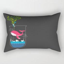 Nature Whale Rectangular Pillow