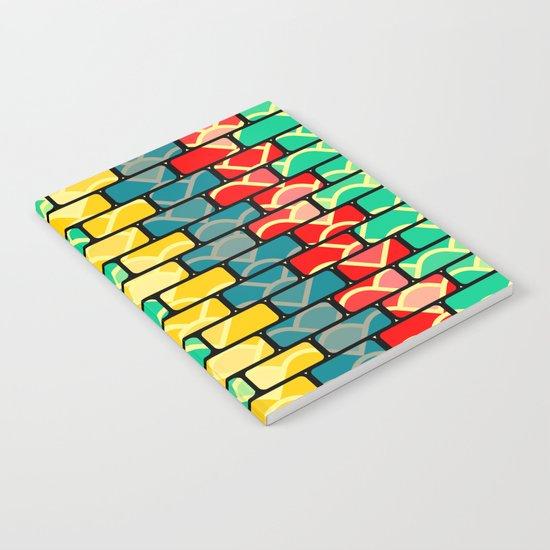 Colorful bricks Notebook