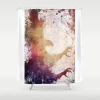 eagle Shower Curtains featuring Eagle by jbjart