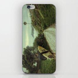 Surfer Boy, Cardiff, California iPhone Skin