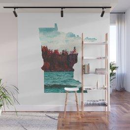 Minnesota-Split Rock Lighthouse at Lake Superior Wall Mural